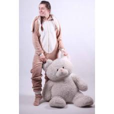 """Детский махровый кигуруми  """" Bags Bunny - New """" р. 34-40"""