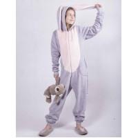 """Детский махровый кигуруми  """" Bags Bunny"""" р. 34-40"""