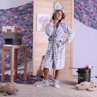 """Детский халат на запах """"Шиншилла"""" р.32-42"""