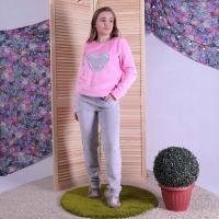 """Женская махровая пижама """"Микки"""" р.40-52"""