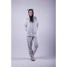 """Женская махровая пижама """"Шиншилла"""" р.42-54"""