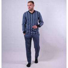 Мужская теплая пижама  р.44-60