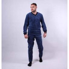 Мужская махровая пижама  р.44-56
