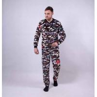 """Мужская махровая пижама """" Army""""  р.44-52"""