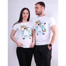 Парная футболка мужская и женская  р. 42-52