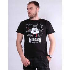 Молодежная мужская стильная  футболка  р. 44-52